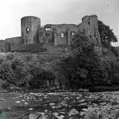 River Tees and Castle, Barnard Castle